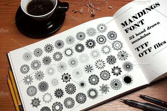 Mandings Dingbat Font