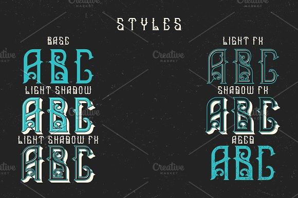 Medieval Kingdoms label font