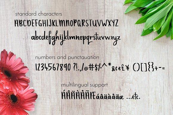 Sugarcoated - Handwritten Font