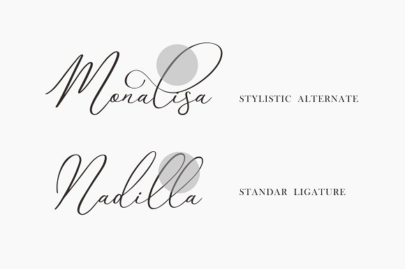 Avelline Modern Calligraphy