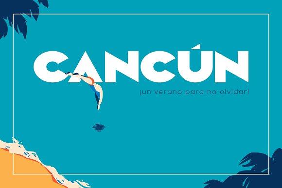 Camar - Vintage Font