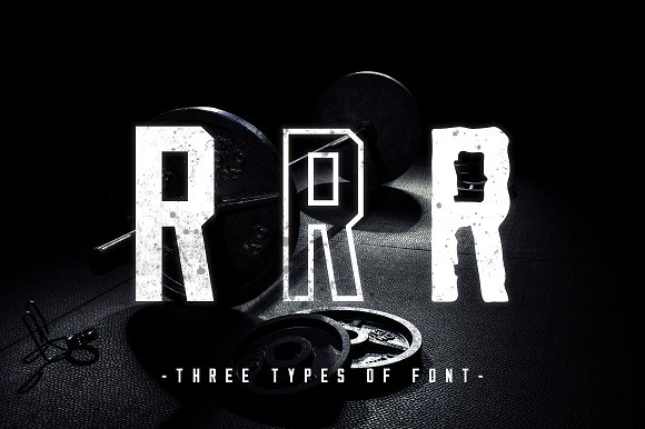 Hardcore | Three Weight Font Family