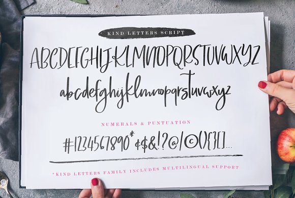 Kind Letters font duo