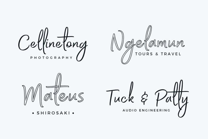 Bethadyn Font Family