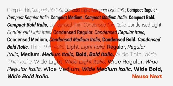 Neusa Next Font Family