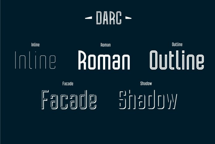 Darc Font Family