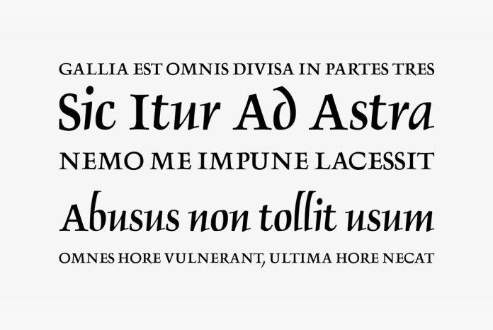 Delphin No 2 Font