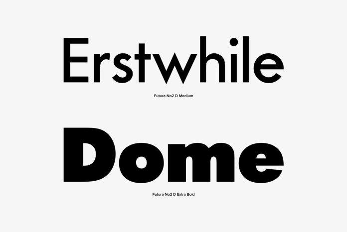 Futura No 2 Font Family