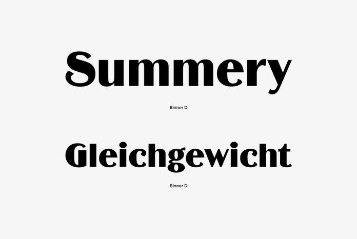 Binner Font Family