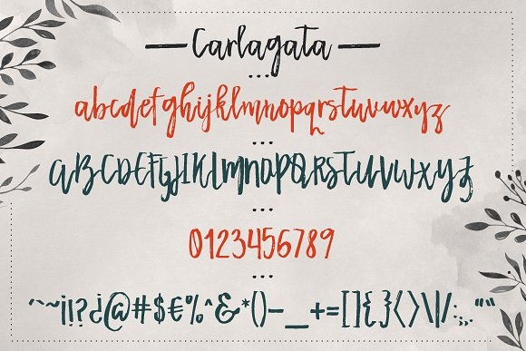 Carlagata Font