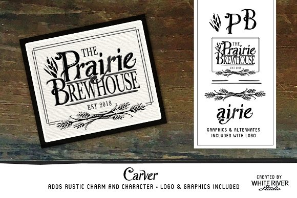 Carver Font + Extras