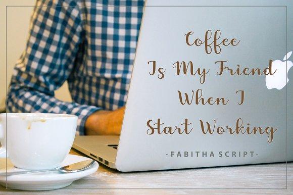 Fabitha Script Upright