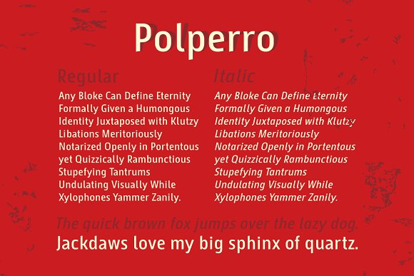 Polperro Sans