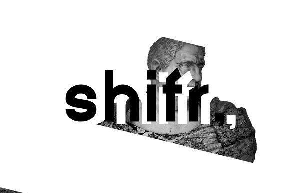 Shifr - Hybrid Grotesque Font