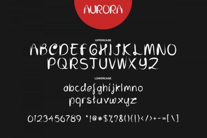 Aurora Font Trio