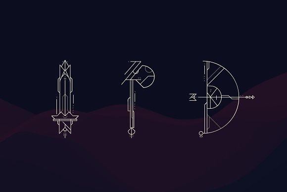 Geometrica | Font Bundle