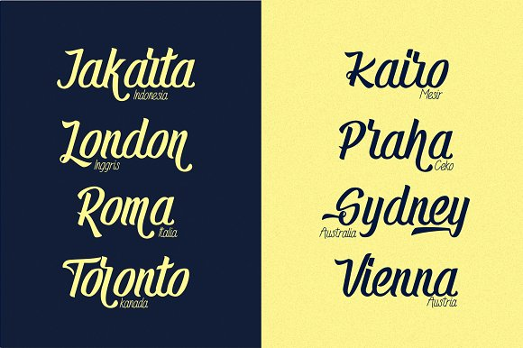 Randusary Font Pack 3 Font