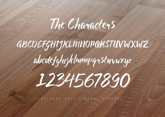 Salmonberry Font