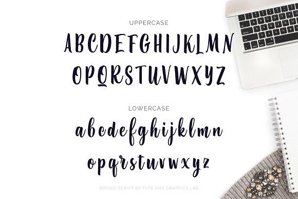 Bonnie Script Font