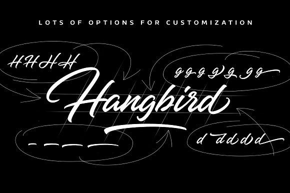 Hangbird Font