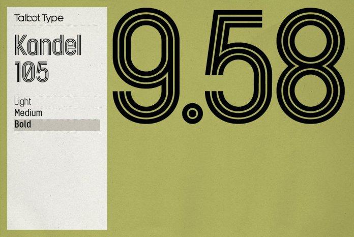 Kandel 105 Font Family