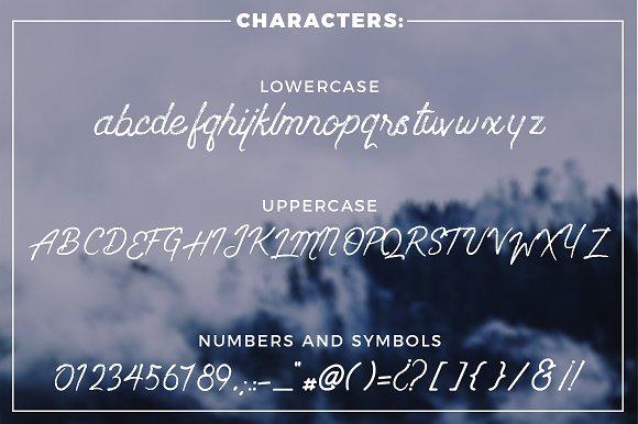 Wanderlust - Dry brush font