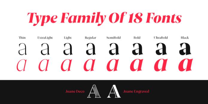 Joane Font Family