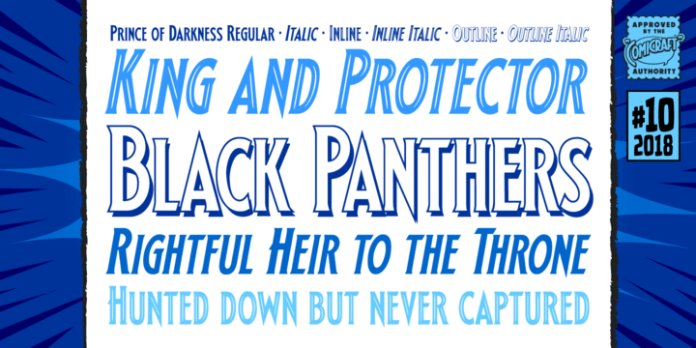Prince Of Darkness Font Family