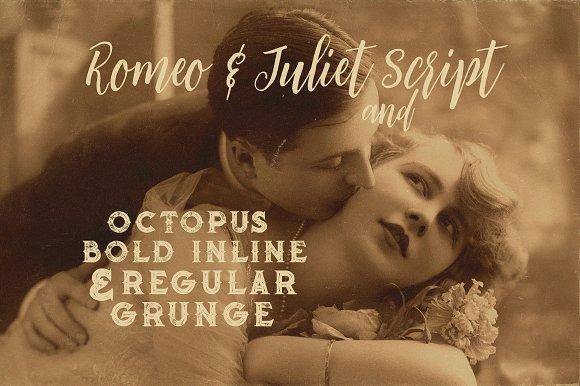 Romeo & Juliet Font Duo