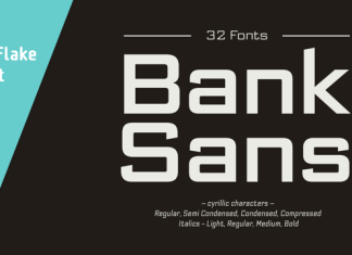 Bank Sans EF Font Family