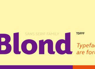 Blond Font Family
