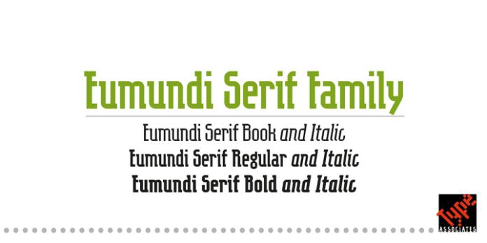 Eumundi Serif Font Family
