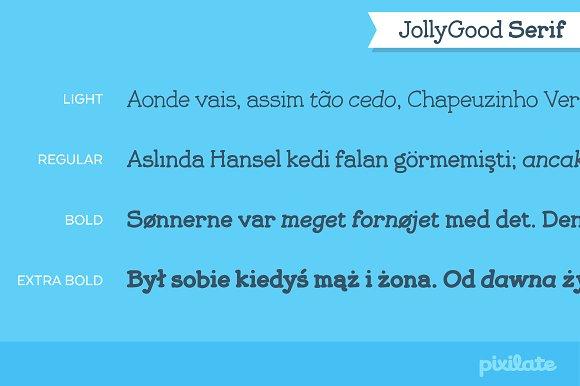 JollyGood Serif- Complete