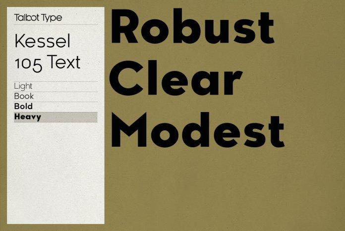 Kessel 105 Text Font Family
