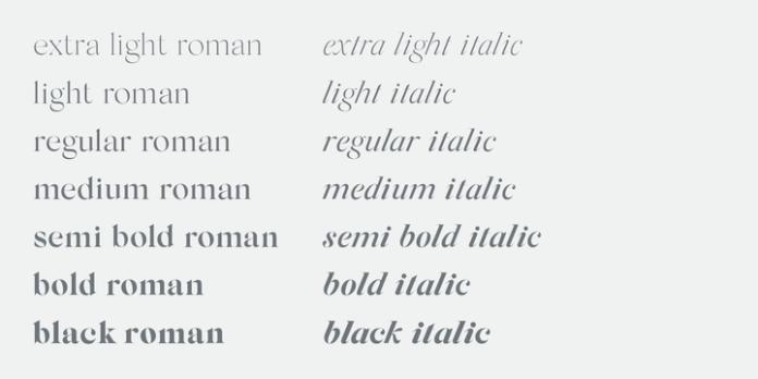 Silk Serif Font Family