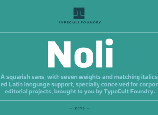 TCF Noli Font Family