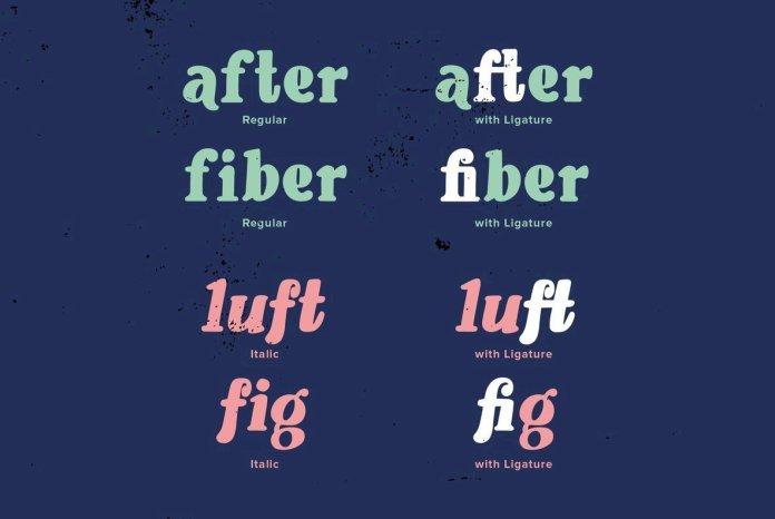 YWFT Blender Font Family