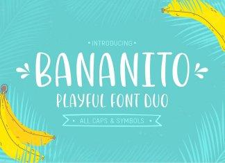 Bananito Script Font