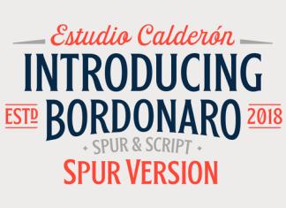 Bordonaro Spur Typeface