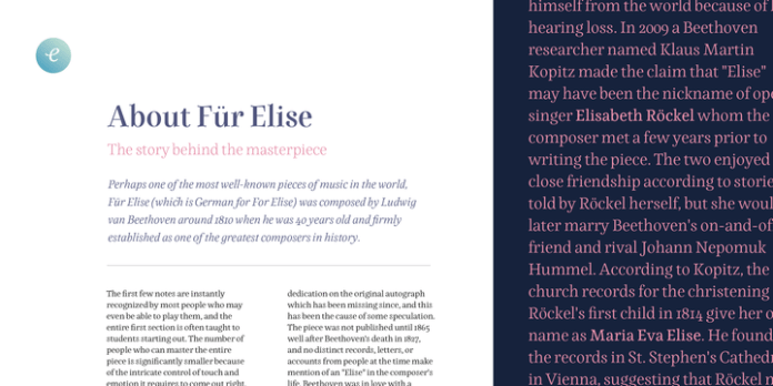 Elisetta Font Family