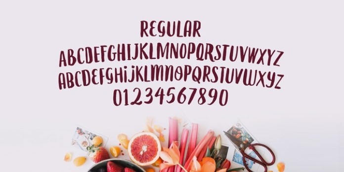 Le Gourmet Font Family