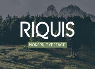 Riquis Typeface