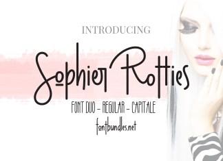 Sophier Rotties Script Font