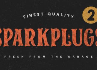 SparkPlug Font Family