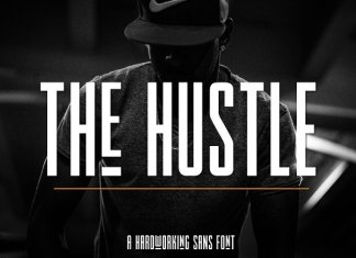 The Hustle Typeface