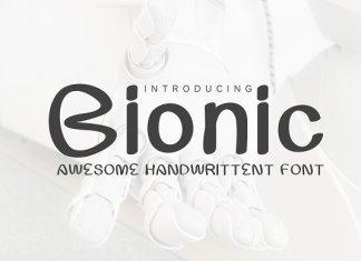 Bionic Web Font