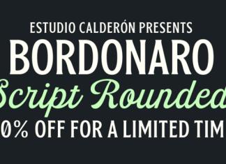 Bordonaro Script Rounded Font