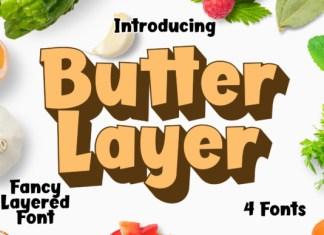 Butter Layer Font