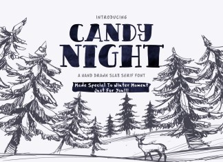 CANDY NIGHT FONT