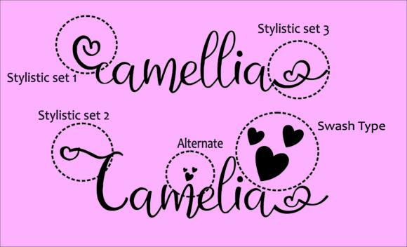 Creativefabrica - Camellia